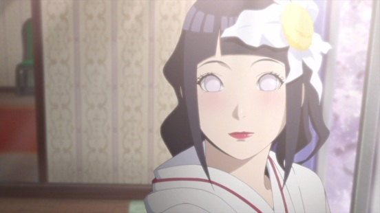 Hinata's wedding face
