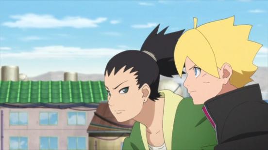 Boruto and Shikadai