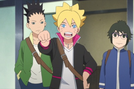 Iwabe vs Boruto! Protecting Friends – Boruto 2