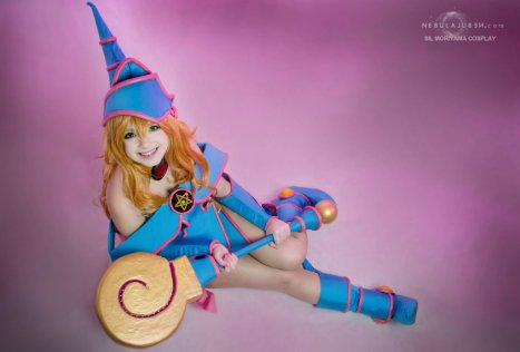 Cosplay Dark Magician Girl by Sil Mariyama Cosplay