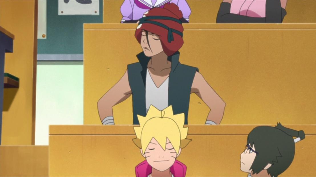 Iwabe and Boruto classmates