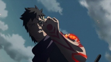Kawaki powers up