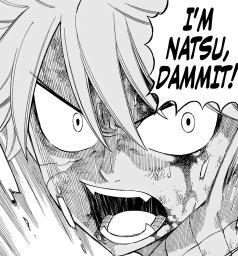 Natsu is angry