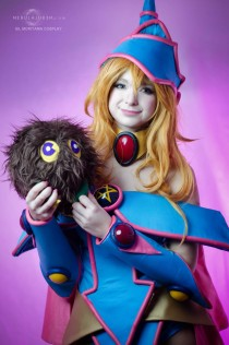 Yugiho Cosplay Dark Magician Girl by Sil Mariyama Cosplay