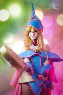 Yugiho Dark Magician Girl Cosplay by Sil Mariyama Cosplay