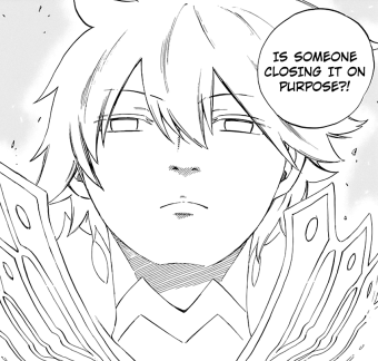Zeref notices Anna