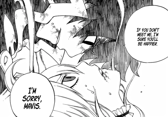 Zeref regrets meeting Mavis