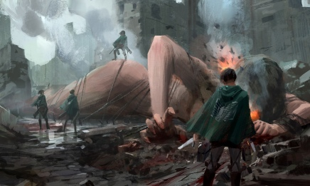 Wrath of the Scouts – Attack On Titan