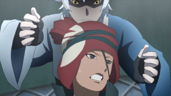 Mitsuki fights Iwabe