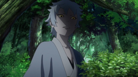 Mitsuki watches on