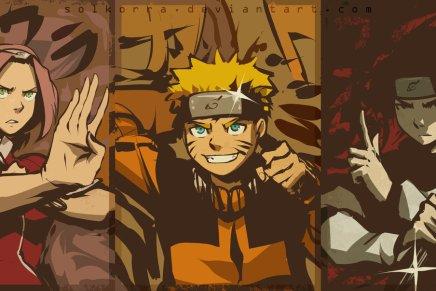 Team 7 Reunites – Naruto, Sasuke andSakura