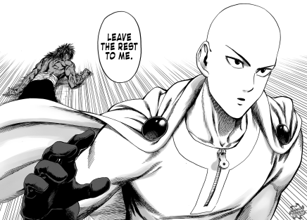 Saitama Arrives! Suiryu's Despair – One Punch Man 74.2