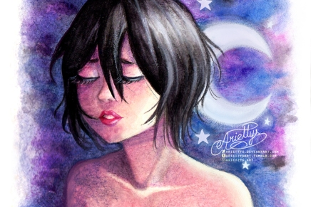She Is The Moon – Rukia Kuchiki
