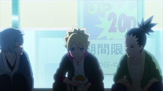 Shikadai Boruto and Mitsuki