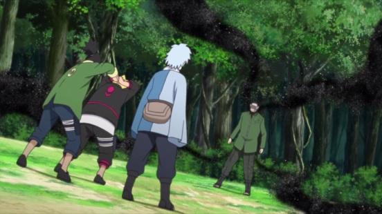 Shino gets mad