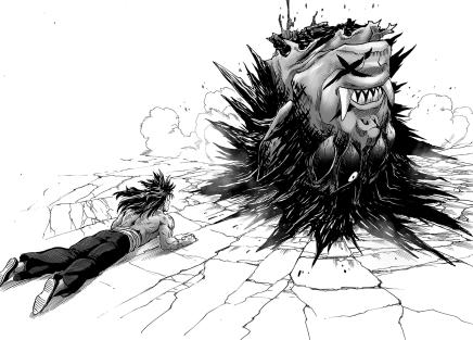 Saitama Destroys Gouketsu & Bakuzan! Pro Hero – One Punch Man75