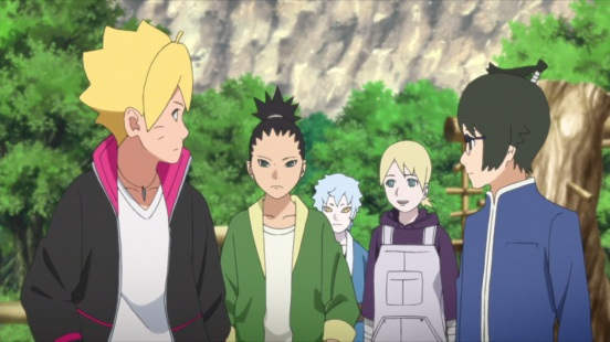 Boruto and friends