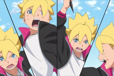 Boruto's Eyes! Fat Hero – Boruto 9