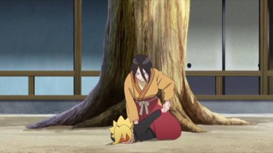 Hanabi captures Boruto