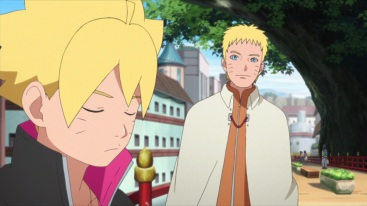 Naruto and Boruto meet