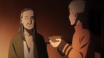Naruto and Hiashi have a drink