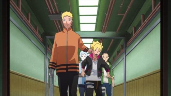 Naruto takes Boruto
