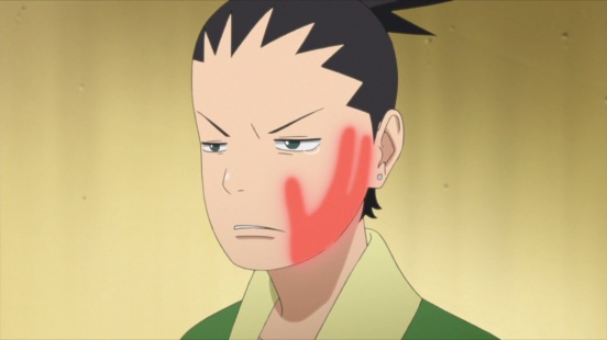 Shikadai slapped