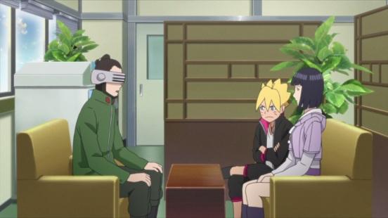 Shino Hinata and Boruto
