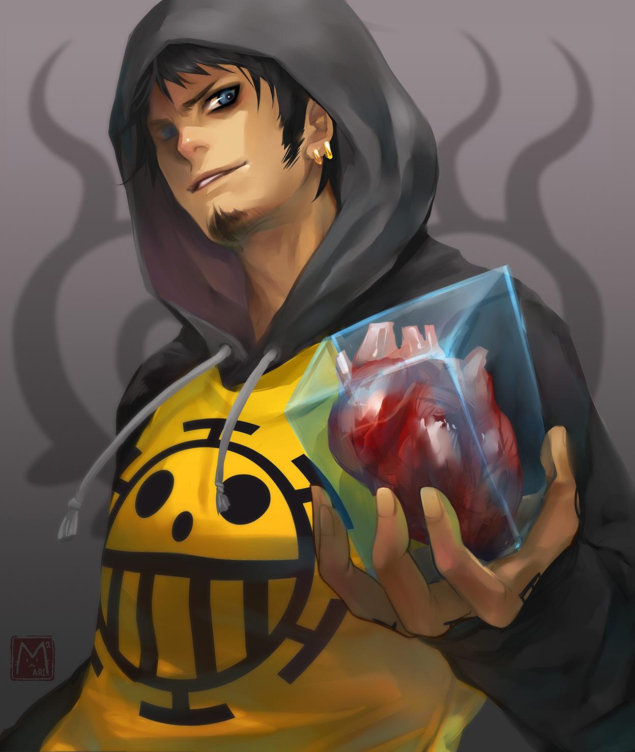 Stealer Of Hearts Trafalgar Law Daily Anime Art