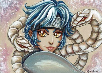 The Young Snake –Mitsuki