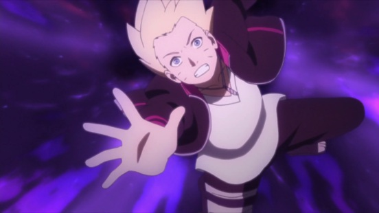 Boruto entering world