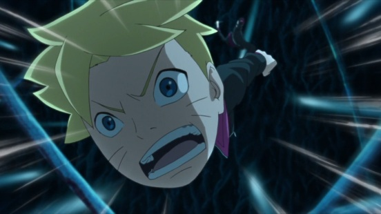 Boruto pushes himself