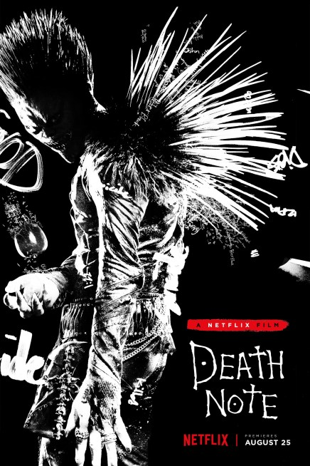Netflix Streams Live-Action Death Note Trailer