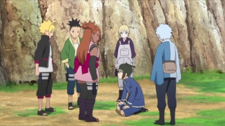 Denki's friends try to help him out