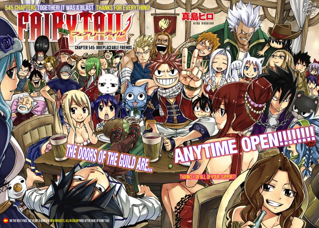 Fairy Tail 545 Chapter Art