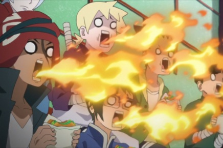 Denki and Iwabe! Passing Exams – Boruto 16