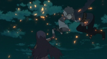 Mitsuki attacks Sumire