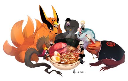 Having Some Ramen – Naruto and Others