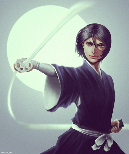 Shinigami and the Moon – Rukia Kuchiki