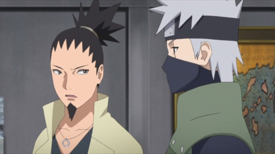 Shikamaru and Kakashi