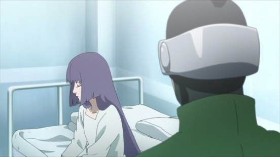 Shino talks to Sumire