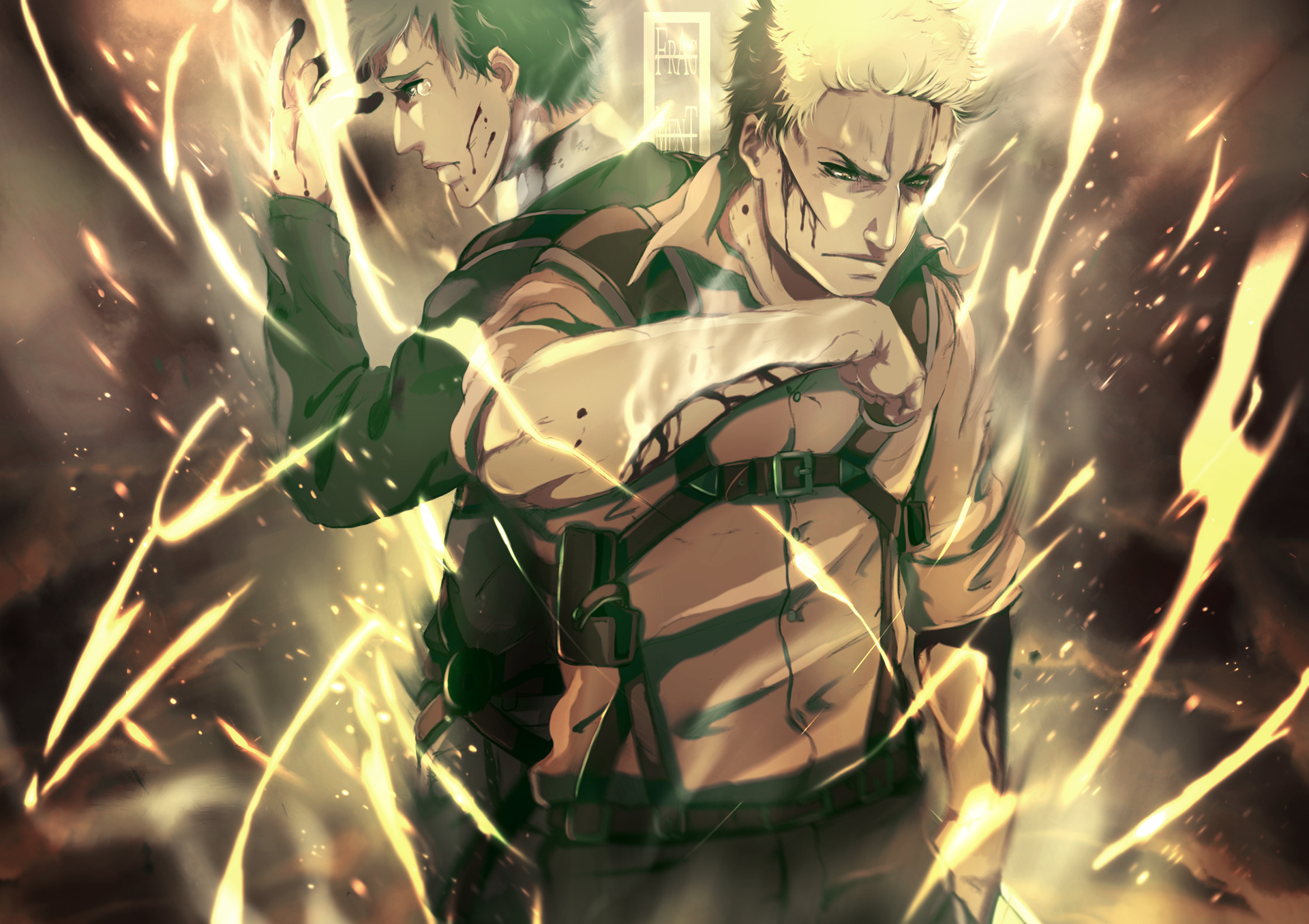 The Warriors – Bertholdt and Reiner | Daily Anime Art