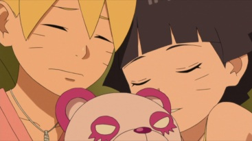 Boruto and Himawari sleeping