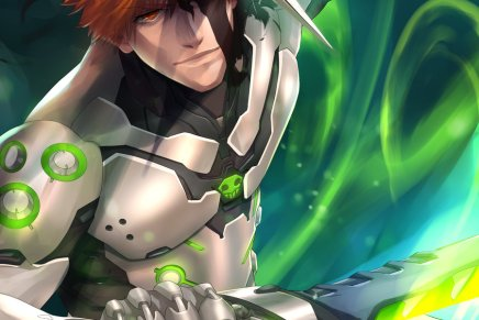 Ichigo and Genji – Bleach and Overwatch Crossover