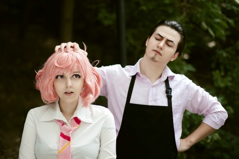 Kofuku and Daikoku Cosplay by Rubrum-Cervi