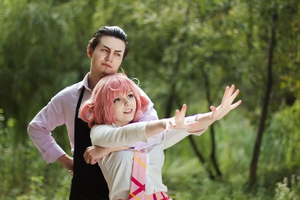 Cosplay: Kofuku and Daikoku (Noragami)