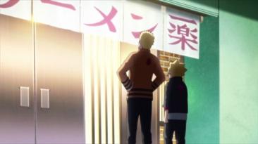 Naruto and Boruto get ramen
