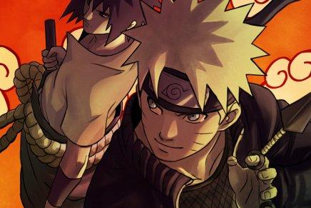 Walking on Clouds – Naruto andSasuke