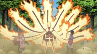 Naruto's Kurama Mode released
