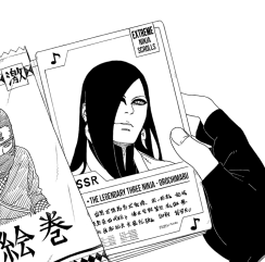 Orochimaru's Ninja card